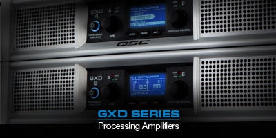 GXD Series Processing Amplifiers