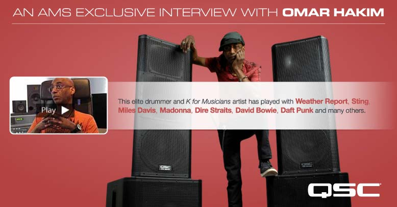 Omar Hakim Interview