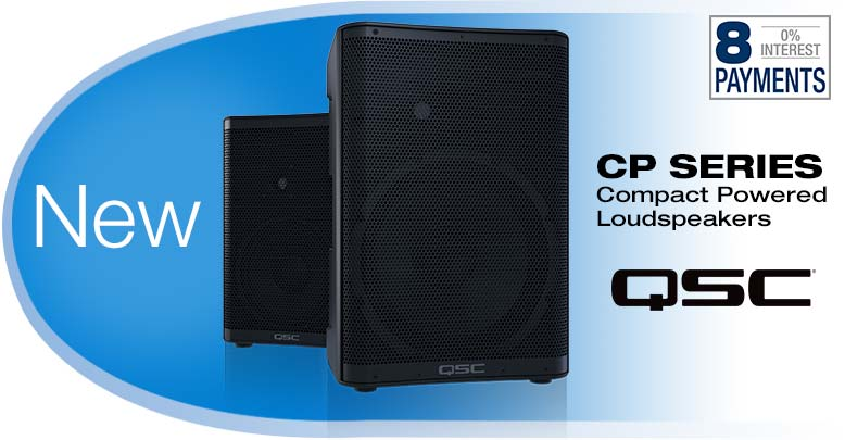 QSC CP Speakers
