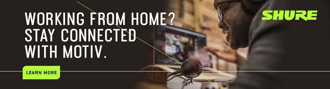 Working From Home? Stay Connected with Motiv