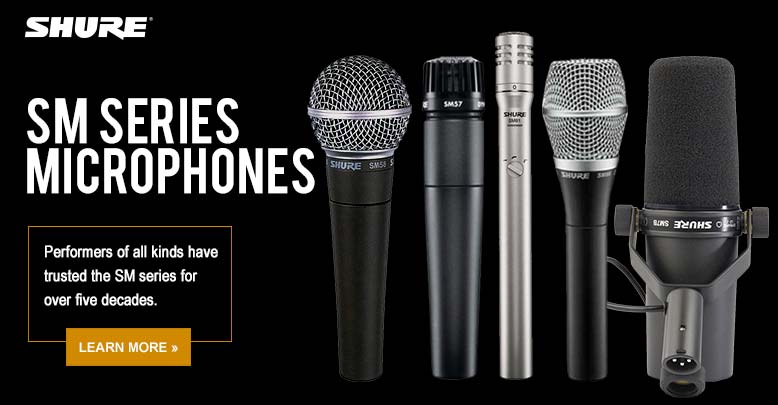SM Series Microphones
