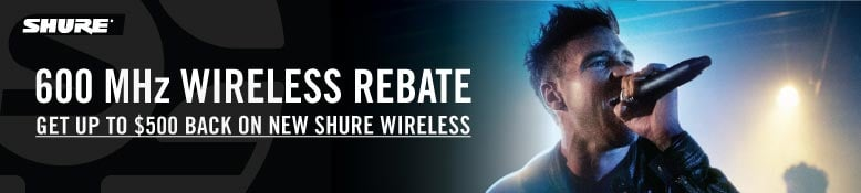 Shure Wireless Rebate