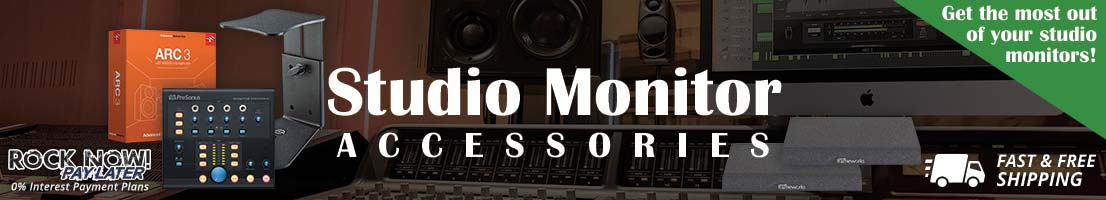 Accessories for your studio monitors