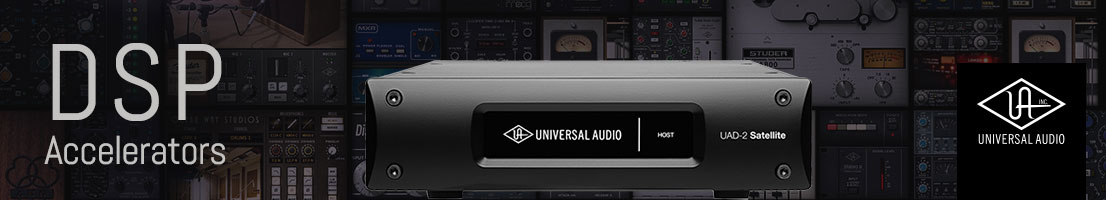 Universal Audio DSP Accelerators