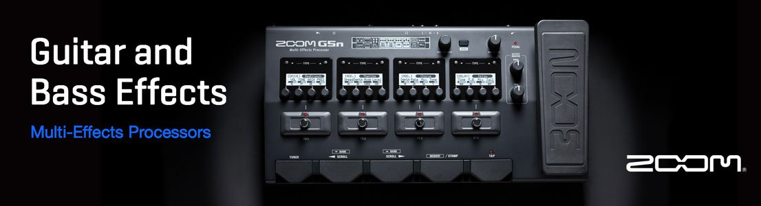 Multi-Effects Processors - Guitar and Bass Effects