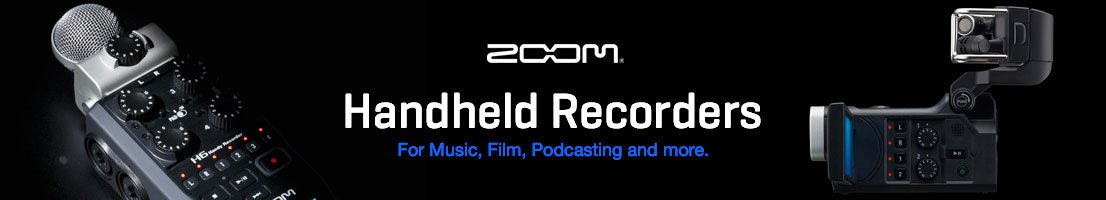 Zoom Handheld Recorders